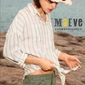 Maeve by Anthropologie Sandbridge Button Down